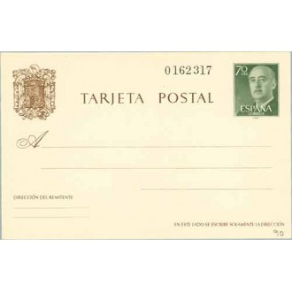 1962. General Franco. 70 c. verde (Laiz 90) 51€