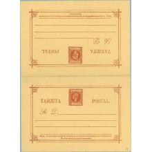 1898. Infante. 3 c. + 3 c. castaño rojo (Laiz 19) 40€