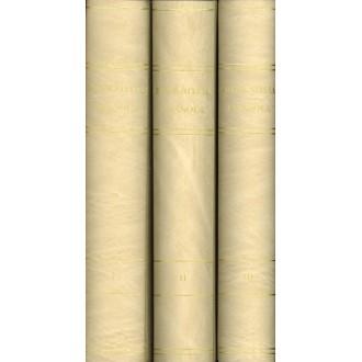 PREFILATELIA ESPAÑOLA. Nuevo estudio de las marcas postales de España y sus dominios de Indias. Siglos XVIII-XIX, .Tres tomos.Ba