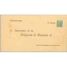 ADMINISTRATIVOS. Castillo de la Mota. 1,80 p. verde s/crema (Laiz 6) 6€