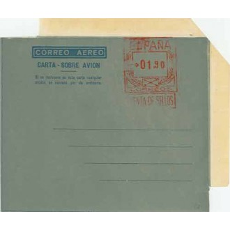 1948. 1,90 p.. Serie gris oscuro.Tipo B (Laiz 14 17€)