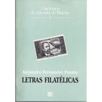 LETRAS FILATÉLICAS. Alendro Fernández Pombo