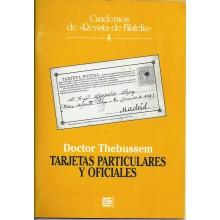 Doctor Thebussem. TARJETAS PARTICULARES Y OFICIALES