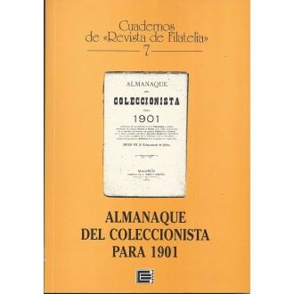 ALMANAQUE DEL COLECCIONISTA PARA 1901. Cuadernos de Revista de Filatelia 7