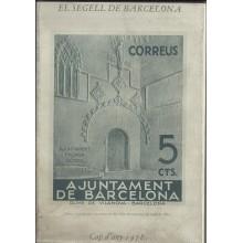 EL SEGELL DE BARCELONA. Los sellos del Ayuntamiento de Barcelona. Joan B. Cendrós