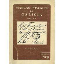 MARCAS POSTALES DE GALICIA Hasta 1870. Andrés García Pascual 1976