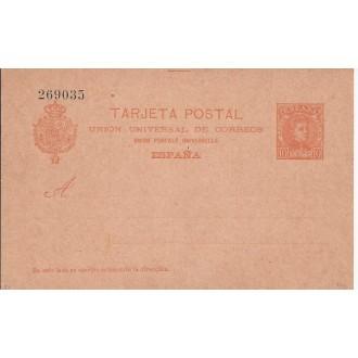 1902. 10 c. rojo naranja sobre salmón. Laiz 42