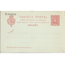 1904. 10 c. rojo naranja sobre azulado. Laiz. 47A. 24€