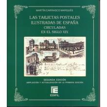 LAS TARJETAS POSTALES ILUSTRADAS DE ESPAÑA CIRCULADAS EN EL SIGLO XIX.