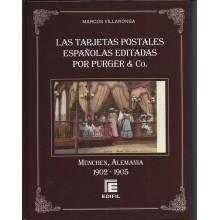 LAS TARJETAS POSTALES ESPAÑOLAS EDITADAS POR PUGUER & CO. MÜCHEN, ALEMANIA 1902-1905. EDIFIL2013. MARCOS VILLARONGA