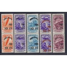 1938. Historia del Correo. Ed. ** 36/52-44hz. 520 €