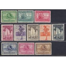 Guinea. 1929. Exposiciones de Sevilla y Barcelona. Edi. ** 191/201. 160 €