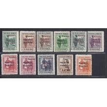 Guinea. 1931. Tipos diversos y Reyes de España. Ed. ** 230M/239M.-243M 385 €