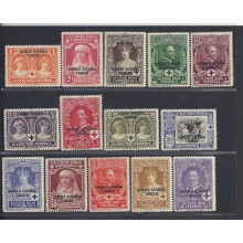 Tanger. 1926. Cruz Roja. Ed. ** 23/36. 84 €