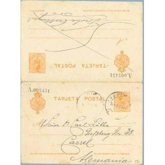 1920. Medallón. 20 c. + 20 c. naranja. Cassel, Alemania (Laiz 52) 200€