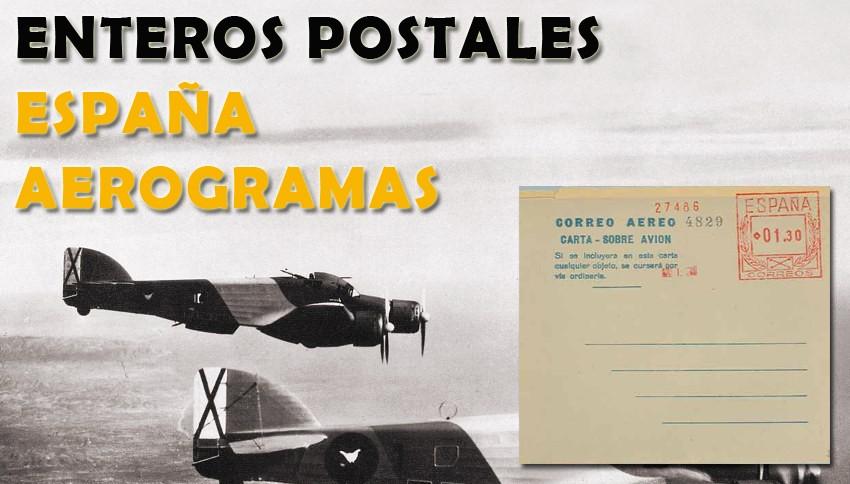 Aerogramas de España